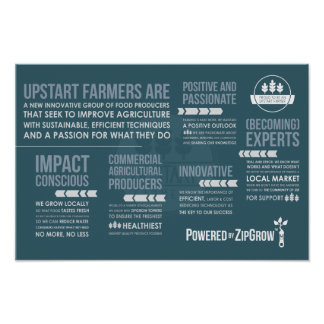 Upstart Farmers Manifesto Poster