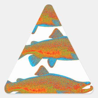 Upstream Alaska Triangle Sticker