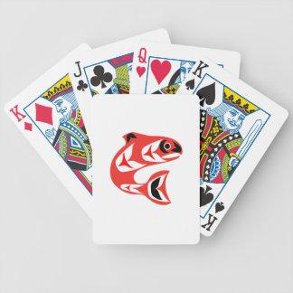 Upstream Swim Bicycle Playing Cards