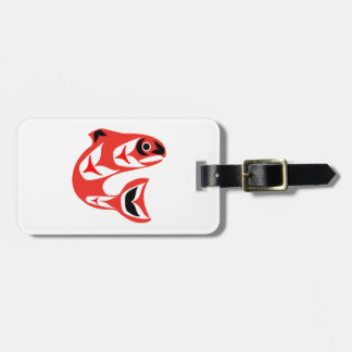 Upstream Swim Luggage Tag