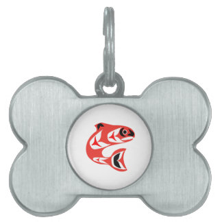 Upstream Swim Pet ID Tag