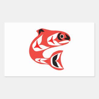 Upstream Swim Sticker