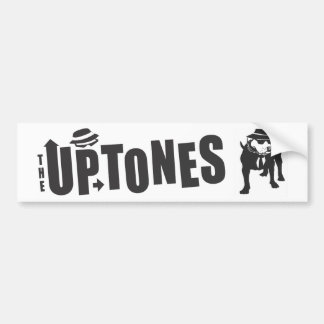 Uptones bumper sticker tres