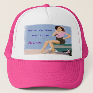 Uptown Car Show Hat Judge