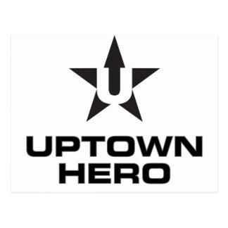 Uptown Hero logo Postcard