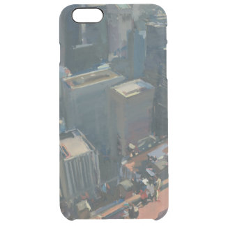 Uptown looking down 2012 clear iPhone 6 plus case