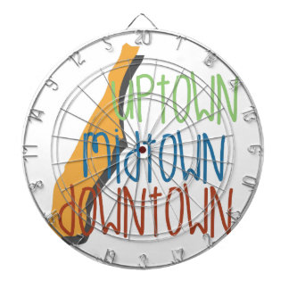 Uptown Midtown Dartboard