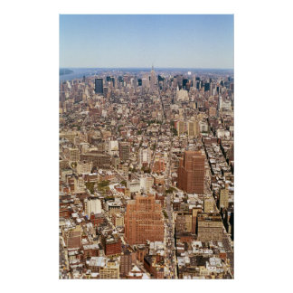 Uptown Panoramic Poster