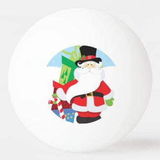 Uptown Santa Ping Pong Ball