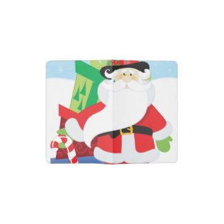 Uptown Santa Pocket Moleskine Notebook