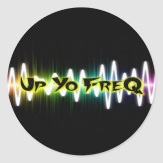 UpYoFreQ Stickers - Large