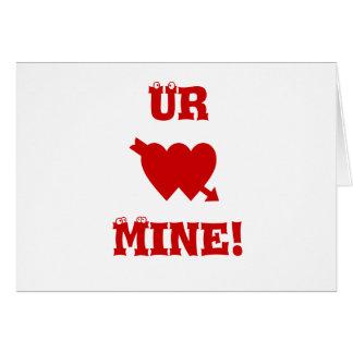 Ur Mine Card