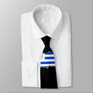Uraguay flag tie
