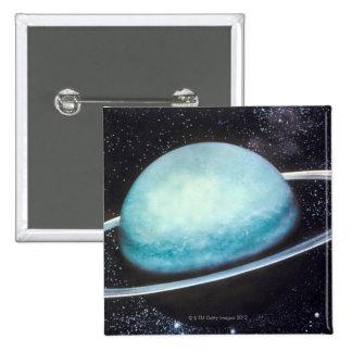 Uranus 2 Inch Square Button