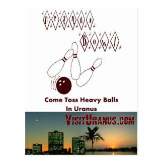 Uranus Bowl Postcard