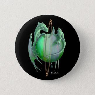 Uranus Dragon 2 Inch Round Button