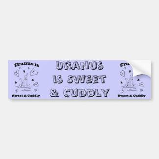 Uranus is Sweet & Cuddly Bumper Sticker