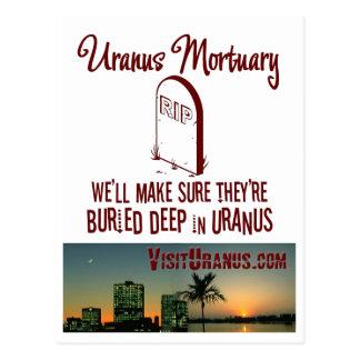 Uranus Mortuary Postcard