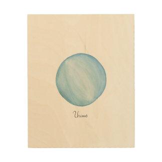 Uranus Wood Wall Art