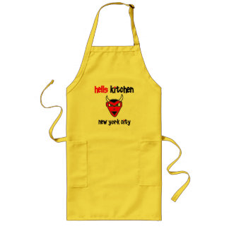 Urban59 Hell's Kitchen Devil Long Apron