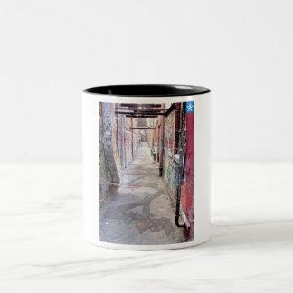 Urban Alley Two-Tone Coffee Mug