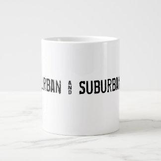 Urban and Suburban Life Jumbo Mug