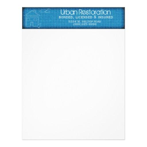 Urban Architecture Personalized Letterhead
