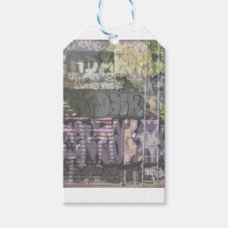 urban art graffiti gift wrapping gift tags