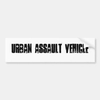 Urban assault vehicle bumper sticker