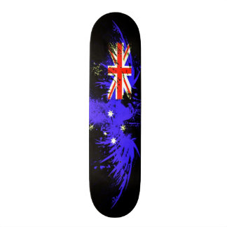 Urban Australia Eagle Grunge Custom Pro Board Skate Deck