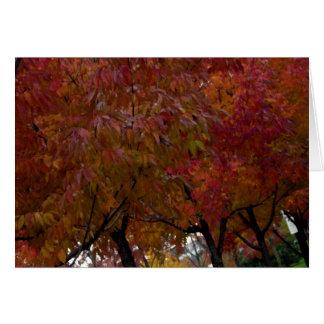 Urban Autumn Card