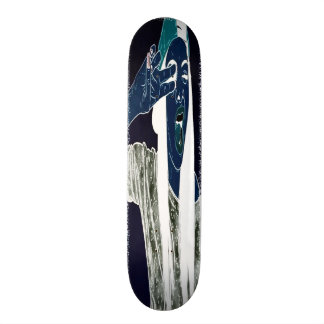 Urban Baby Blue Girl Emo Element Pro Trick Deck Skateboard