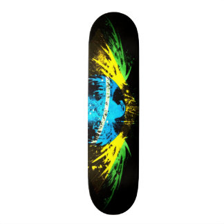 Urban Brazil Graffiti Eagle Custom Pro Park Board Skateboard