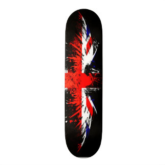 Urban British Eagle Graffiti Custom Pro Park Board Skate Board