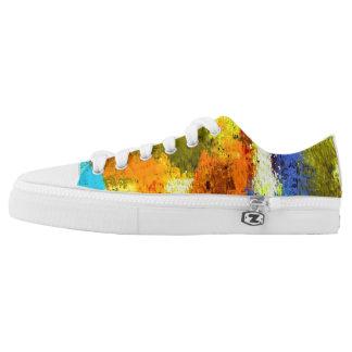 Urban Camo Artist-Designed Sneakers