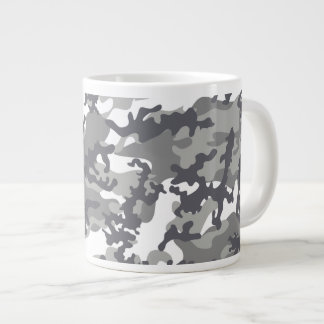 Urban Camo Glass Jumbo Mug