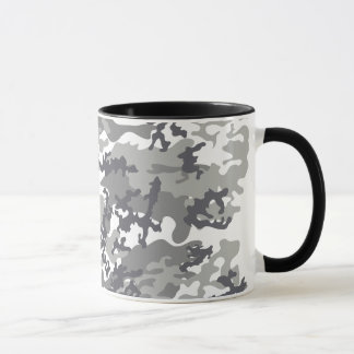 Urban Camo Glass Mug