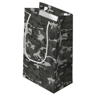 Urban Camo Pattern Camping and Hunting Small Gift Bag