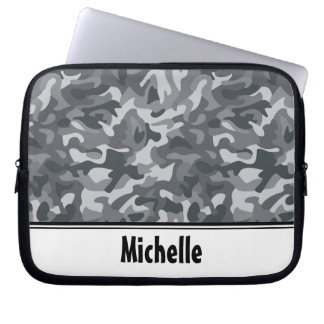 Urban Camo Pattern Computer Sleeves