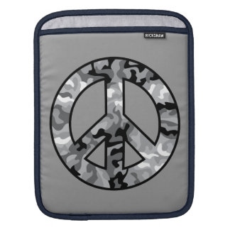 Urban Camo Peace iPad Sleeve