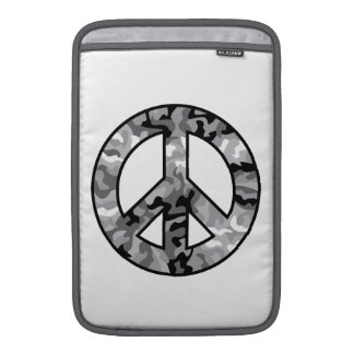 Urban Camo Peace Sleeves For MacBook Air