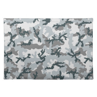 Urban camouflage placemat