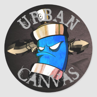 Urban Canvas - crush addict Sticker