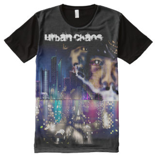 Urban Chaos (Mad City) All-Over-Print T-Shirt