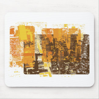 Urban Cityscape Mouse Pads