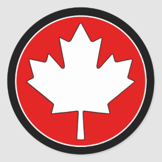 Urban Culture Canada Day Stickers