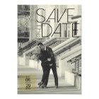 Urban Deco Save The Date | Wedding Card