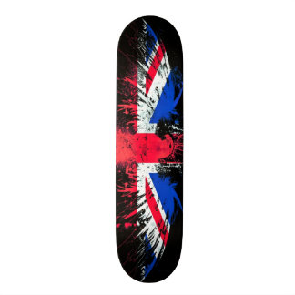 Urban England Eagle Graffiti Custom Pro Board Custom Skate Board