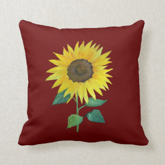 Urban Farm Sunflower Pillow