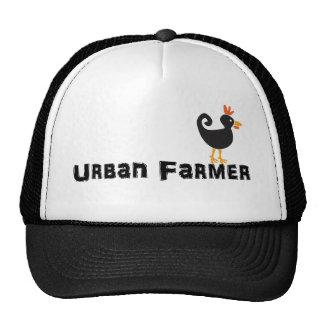 Urban Farmer Chicken Hat